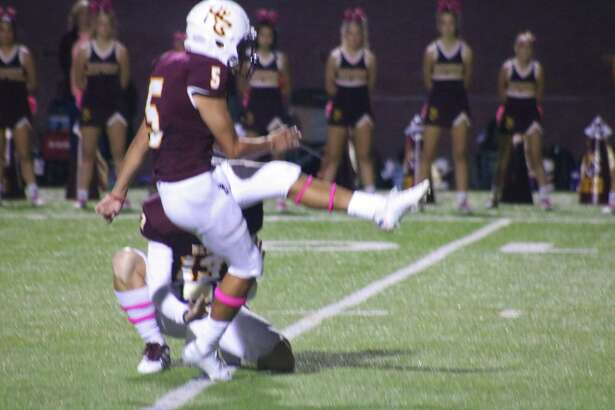 Placekicker Alex Sanchez nabbed Second Team honors after scoring 41 points, third most in the district.