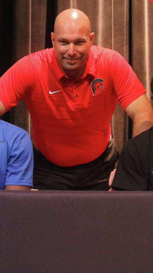 South Houston head football coach Patrick Longstreet will be rooting for an eight-team district when the 2020-2022 realignment is announced in two weeks. Photo: Robert Avery