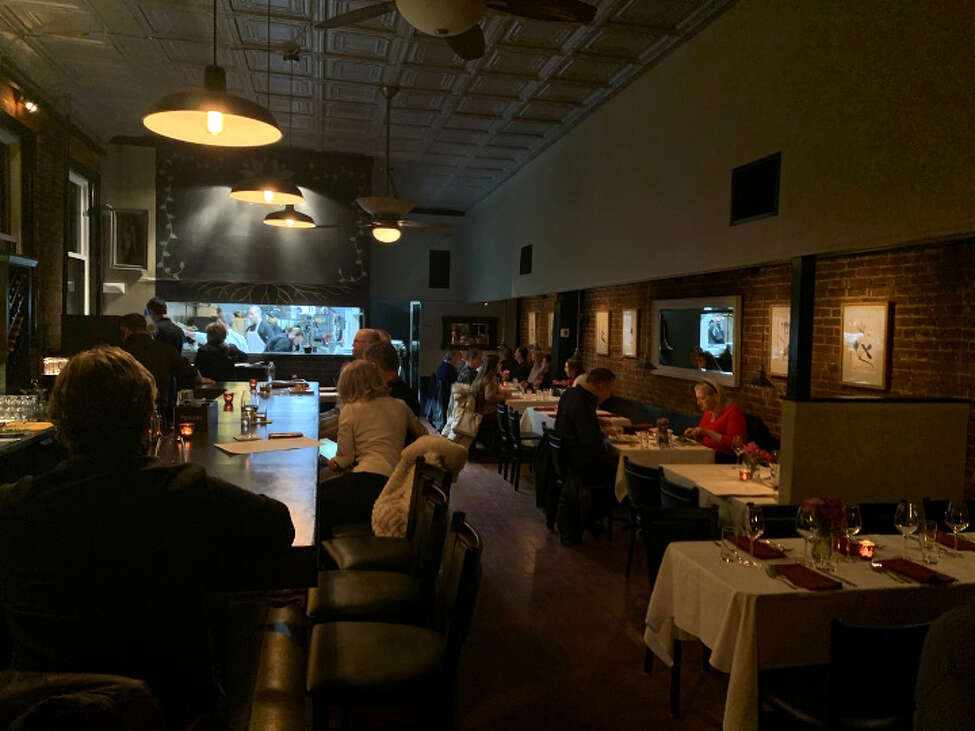 The layout of Radici is largely the same as it was for the former occupant of the Ridge Street space, Bistro Tallulah.