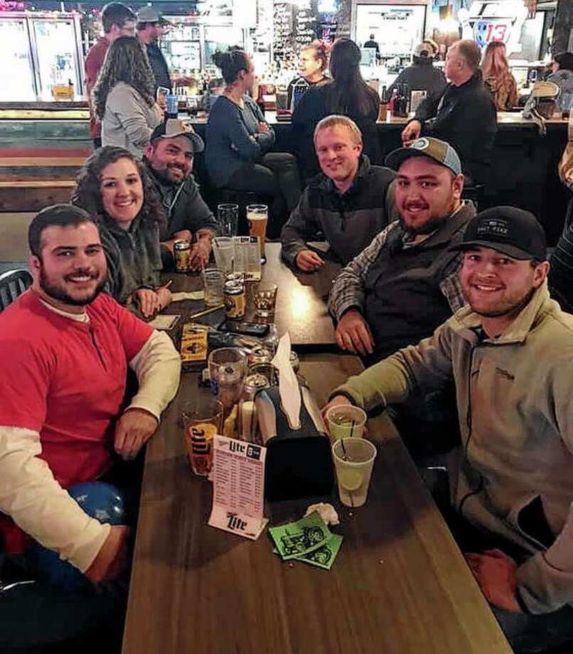 The Pike-Scott Agriculture in the Classroom program recently hosted a trivia night fundraiser at Bowler's Universe in Pittsfield. Pike-Scott Farm Bureau's Young Leaders Trivia Team — with members Elijah Hoover (from left), Marlee Schultz, John Schultz, Brock Willard, Evan Sheppard and Wyatt Bradshaw — was among 10 teams that participated. The event raised more than $1,500 to fund the AITC program, which is offered to third-graders in Pike and Scott counties. The top three teams were the IDK's, Cindy Gerard's team and the Evil Empire. Joann Moffit won the 50-50 raffle. Another AITC trivia night fundraiser is set for Feb. 22 at the Winchester EMS building. Photo: Photo Provided