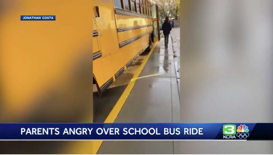 A Manteca school bus driver was put on administrative leave after parents say their children experienced a scary ride home on Jan. 16, 2020. Photo: KCRA