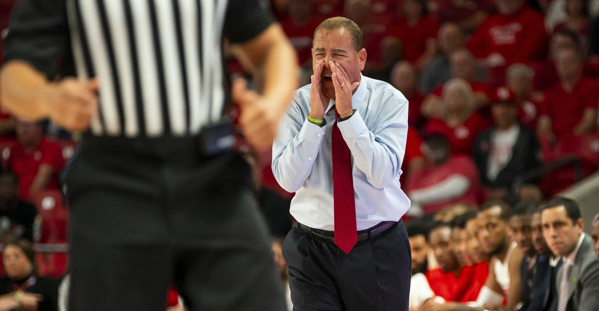 Where does UH's upset of Wichita State rank under Kelvin Sampson?