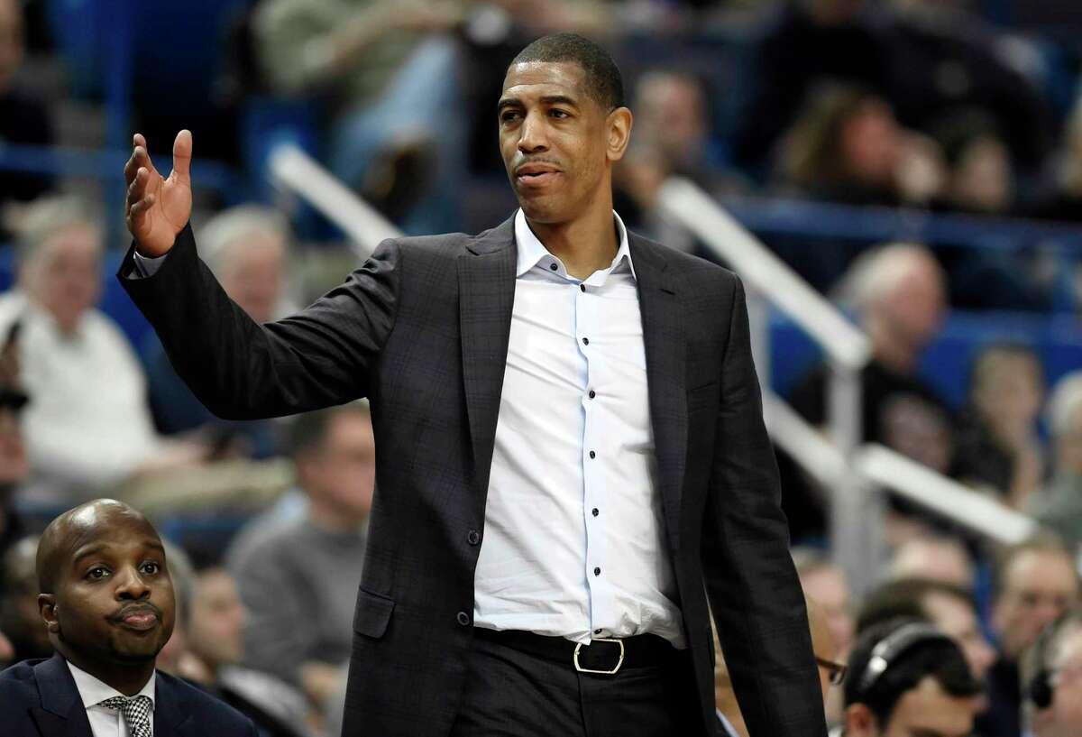 Former UConn men's basketball coach Kevin Ollie.