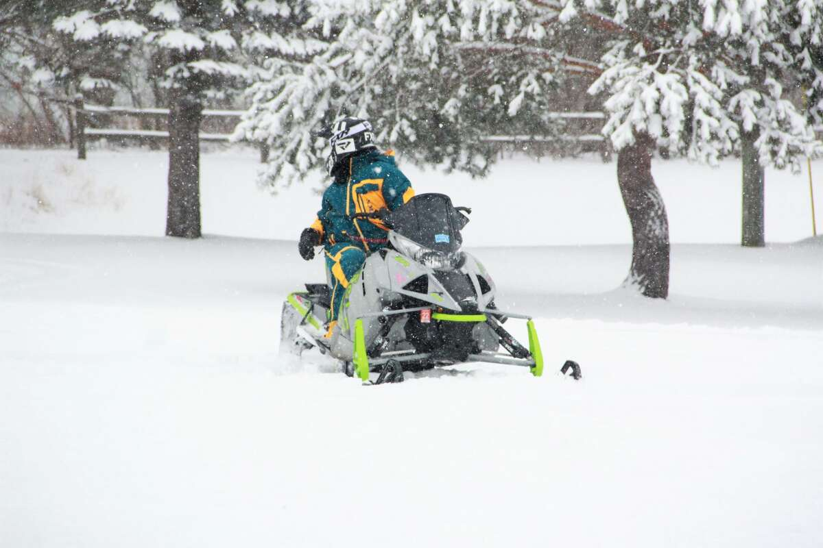 Area residents enjoyed the hefty snowfall that blanketed Michigan Saturday. Enjoy a few photos of the local scenery!