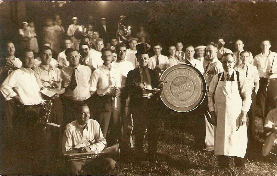 One of the popular musical groups in Manistee during the 1930s was the Iron Works Band.