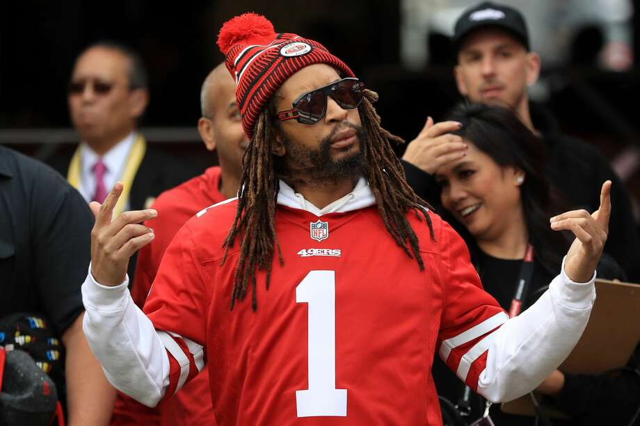 "Recording artist Jonathan ""Lil Jon"" Smith attends the NFC Championship game between the San Francisco 49ers and the Green Bay Packers at Levi's Stadium on January 19, 2020 in Santa Clara, California. (Photo by Sean M. Haffey/Getty Images) Photo: Sean M. Haffey/Getty Images"