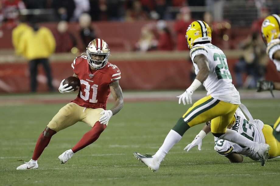 San Francisco 49ers running back Raheem Mostert is requesting a trade, his agent says. Photo: Ben Margot, Associated Press