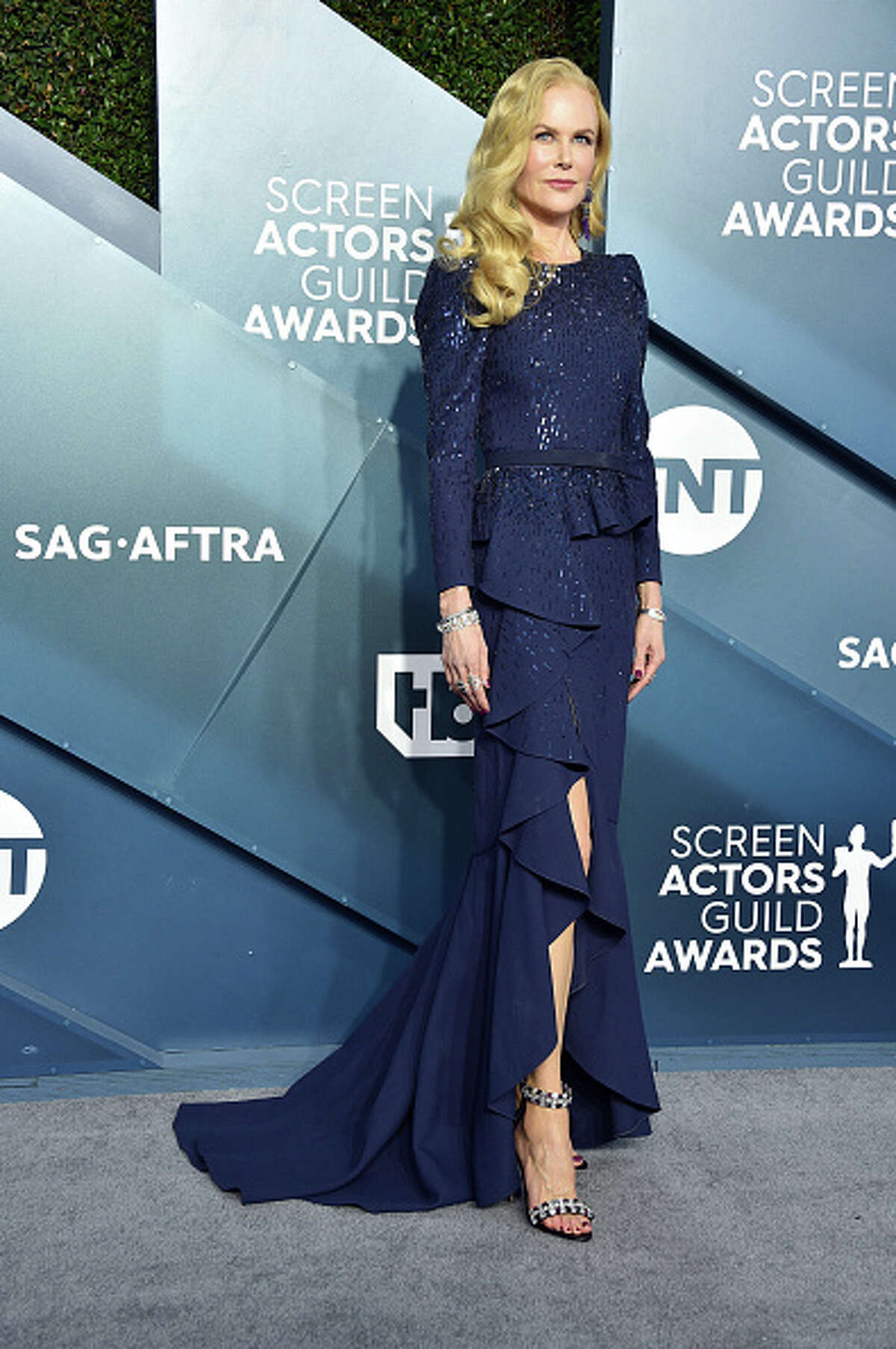 Nicole Kidman attends the 26th Annual Screen ActorsGuild Awards at The Shrine Auditorium on January 19, 2020 in Los Angeles, California. 721430 (Photo by Gregg DeGuire/Getty Images for Turner)