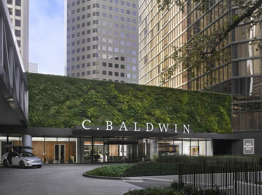 The 20-story C. Baldwin, at 400 Dallas, opened in Oct. 2019. Photo: Will Pryce