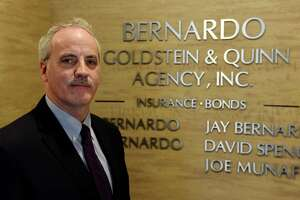 Jay Bernardo, president of Bernardo, Goldstein & Quinn bail bondsman agency, on Friday, Jan. 17, 2020, at his offices in Colonie, N.Y. The bail bond industry is facing huge losses in the wake of New York's bail reform law. (Will Waldron/Times Union)