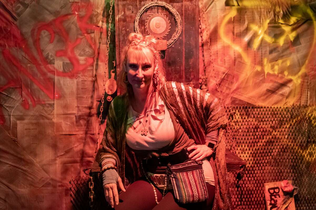 Laurie Gordon attends The Art Studio, Inc.'s annual fundraiser the Beaux Arts Ball on Saturday night, January 18, 2020. The theme of this year's event is Winter Wonder Wasteland with event-goers encouraged to dress in their best post-apocalyptic attire. Fran Ruchalski/The Enterprise