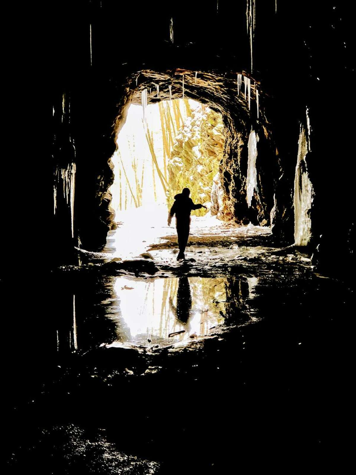 Amanda Prather's photo, The Light at the End of a Tunnel, won first place in the youth division at the Focus '19 photo competition sponsored by the Wilton Arts Council.