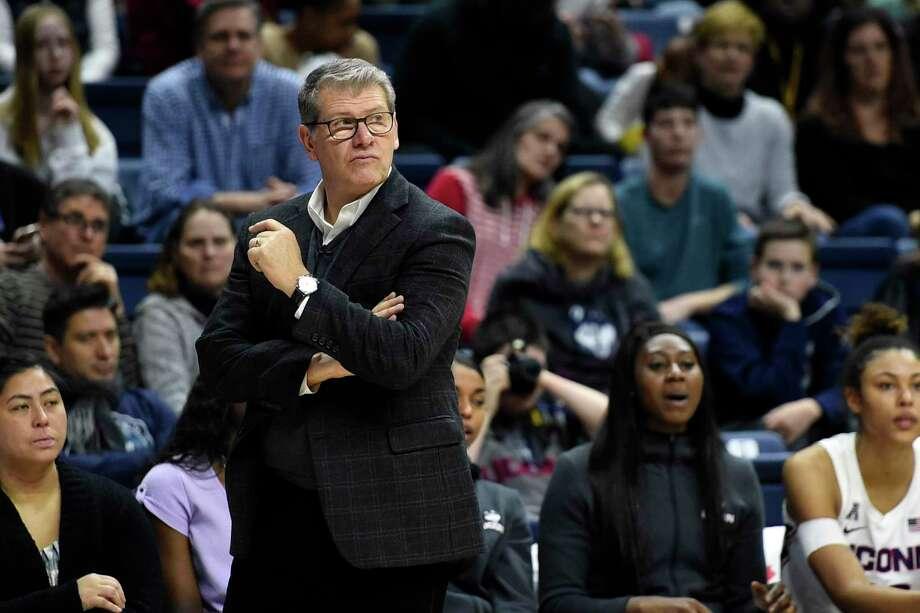 Coach Geno Auriemma and the UConn women's basketball team will begin on-the-court activities on Tuesday. Photo: Stephen Dunn / Associated Press / Copyright 2020 The Associated Press. All rights reserved