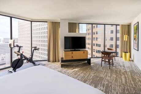 Peloton rooms at C. Baldwin Hotel