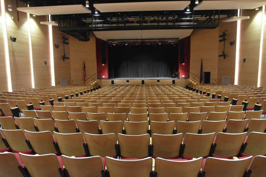 Pictured is the auditorium at Saxe Middle School in New Canaan, Connecticut. Photo: New Canaan Public Schools / Contributed Photo / New Canaan Advertiser Contributed