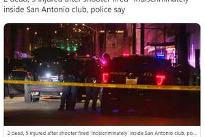 """@washingtonpost: 2 dead, 5 injured after shooter fired """"indiscriminately"""" inside San Antonio club, police say"""