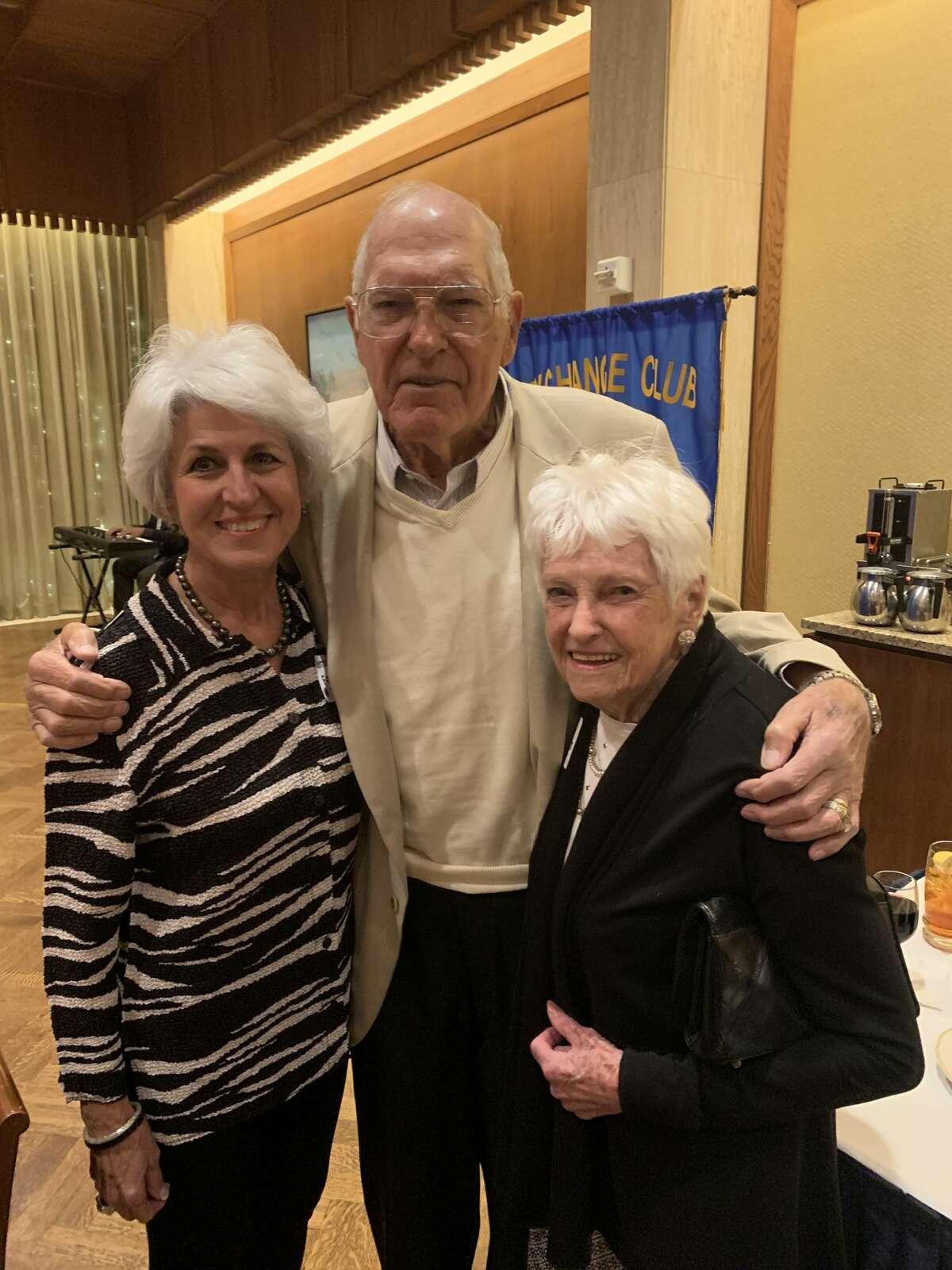 Golden Deeds: Bernadette Fanning, from left, and Bob and Betty Reimers