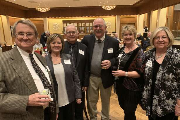 Golden Deeds: from left, Earl Sebring, from left, Cheryl and Kenneth Bristow, Wendell and Carolyn Creech and Mary Sebring