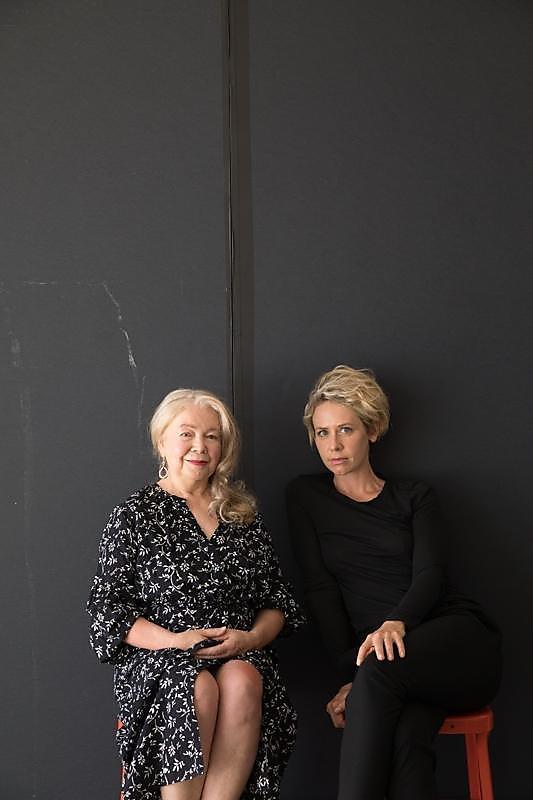 Marie Veronique Nadeau (left) of Marie Veronique and aesthetician Kristina Holey.