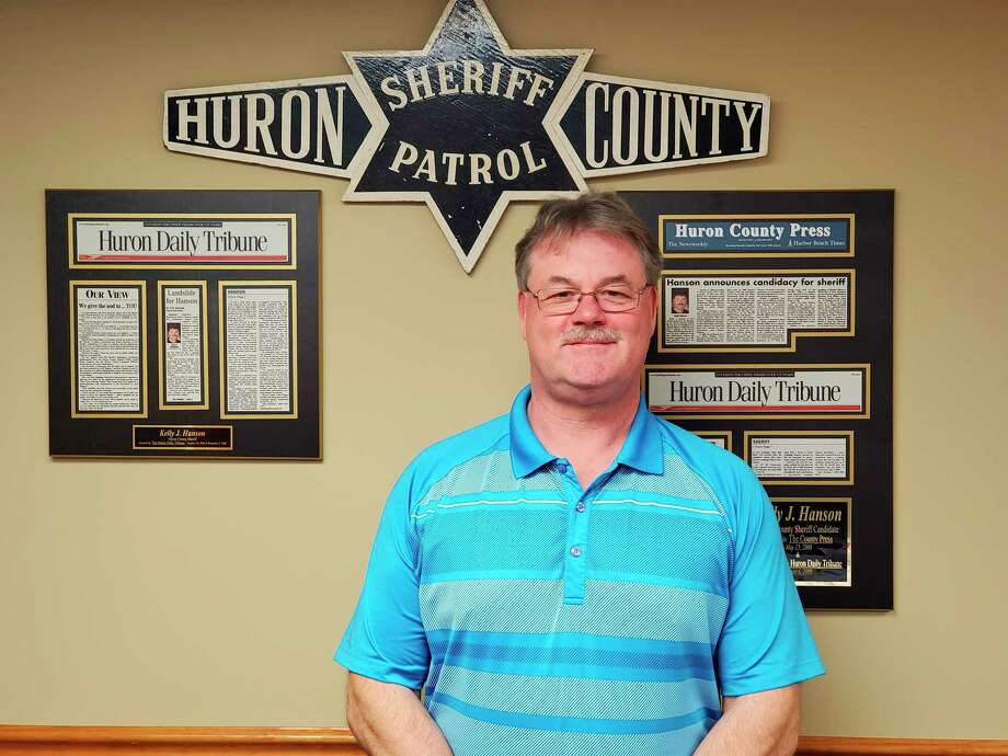 As the elected law enforcement authority for the county, Huron County Sheriff Kelly Hanson said it is the sheriff's role to be accessible to the public. (Scott Nunn/Huron Daily Tribune)