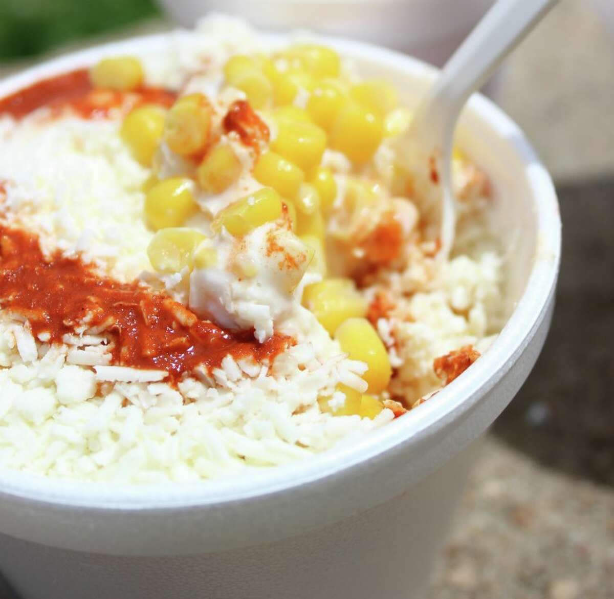 """Organizer and owner of El Chistoso Elotes Robert Reyes originally planned to have the free """"Roasted Corn Festival"""" last March at Copernicus Park but postponed it twice in the COVID-19 era."""