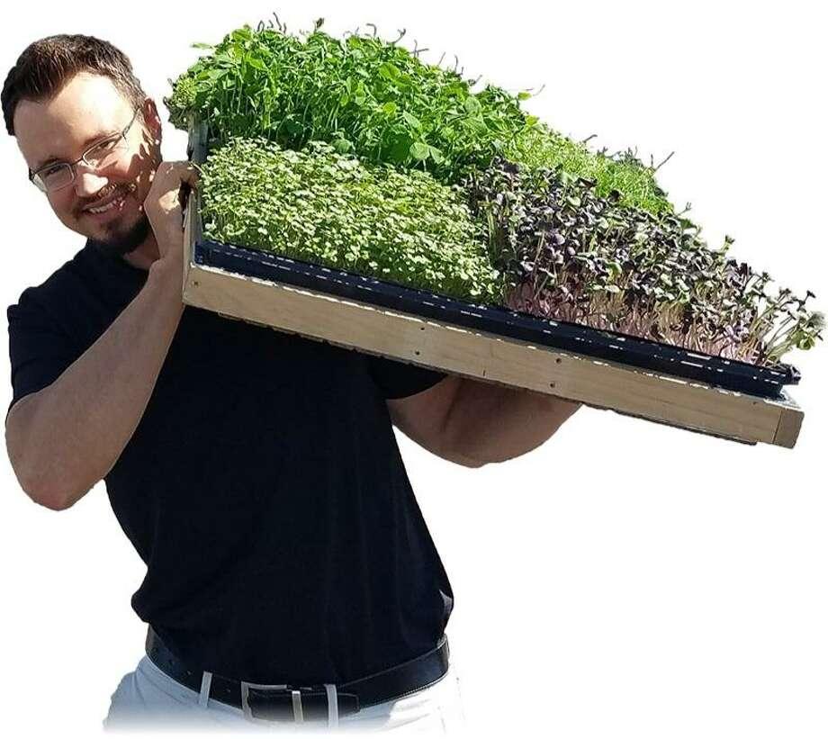 James Hinton is founder of Zero-Point Organics Photo: Courtesy Photo