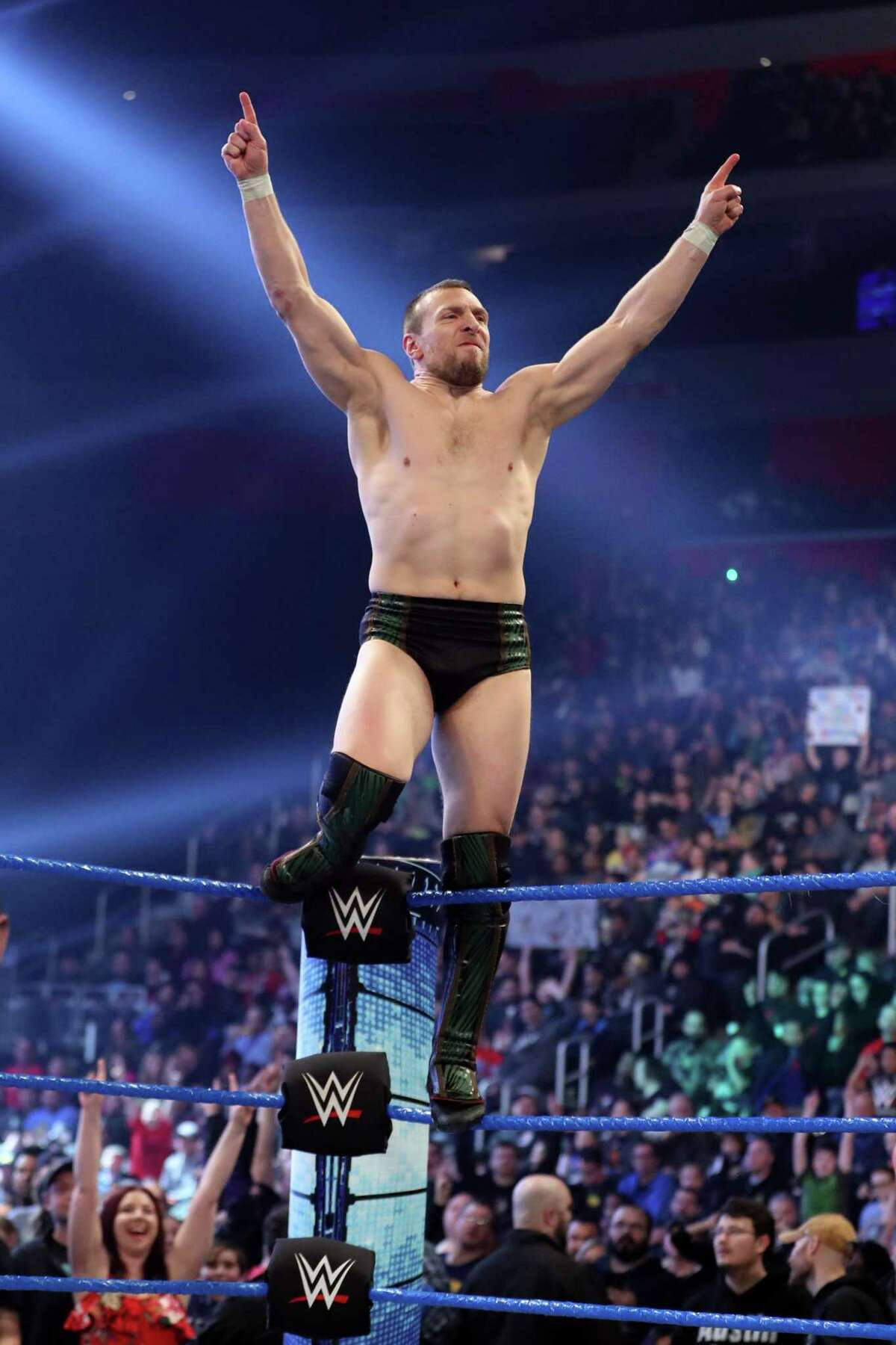 WWE Superstar Daniel Bryan is looking to win the WWE Universal Championship when he faces