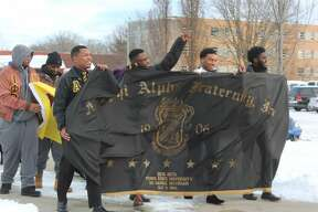 Ferris students and staff took part in a variety of events Monday for MLK Day. Events consisted of a community service project, a freedom march, presentations and more.