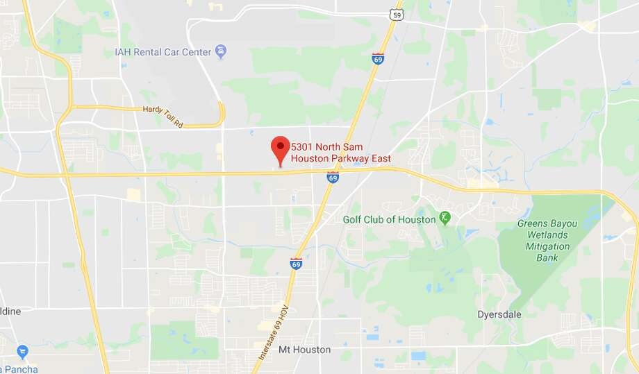 A 6-year-old girl was struck by a vehicle Monday, Jan. 20, at an apartment in the 5300 block of North Sam Houston Parkway. She is expected to survive. Photo: Google Maps