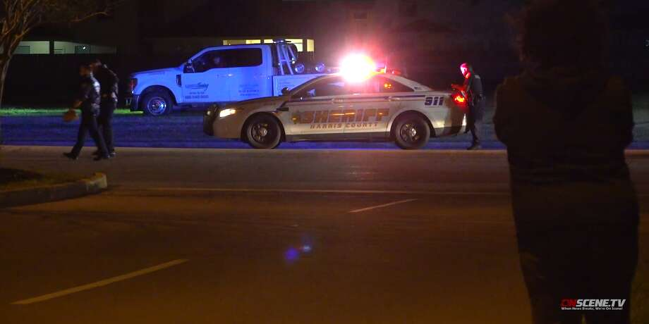A man was shot multiple times early Sunday before three drivers struck him in the 7200 block of Sugarland Howell Road. Photo: OnScene TV