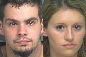 Patrick Lloyd Bratcher, 27, of Conroe, is being charged with burglary of habitation, a second-degree felony. Kayla Christine Smith, 29, of Porter, is being charged with bond forfeiture.
