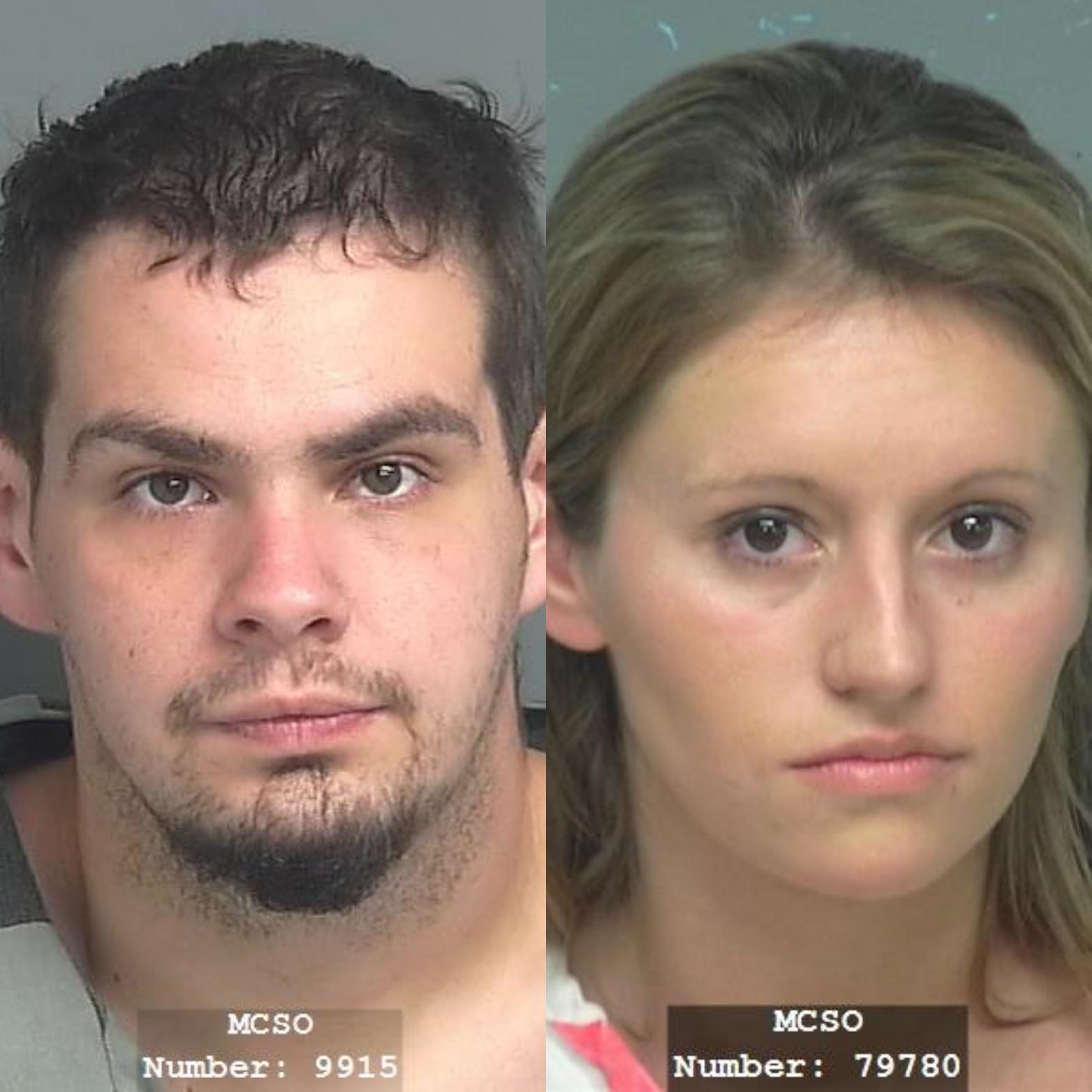 Pair arrested after alleged Conroe house burglary
