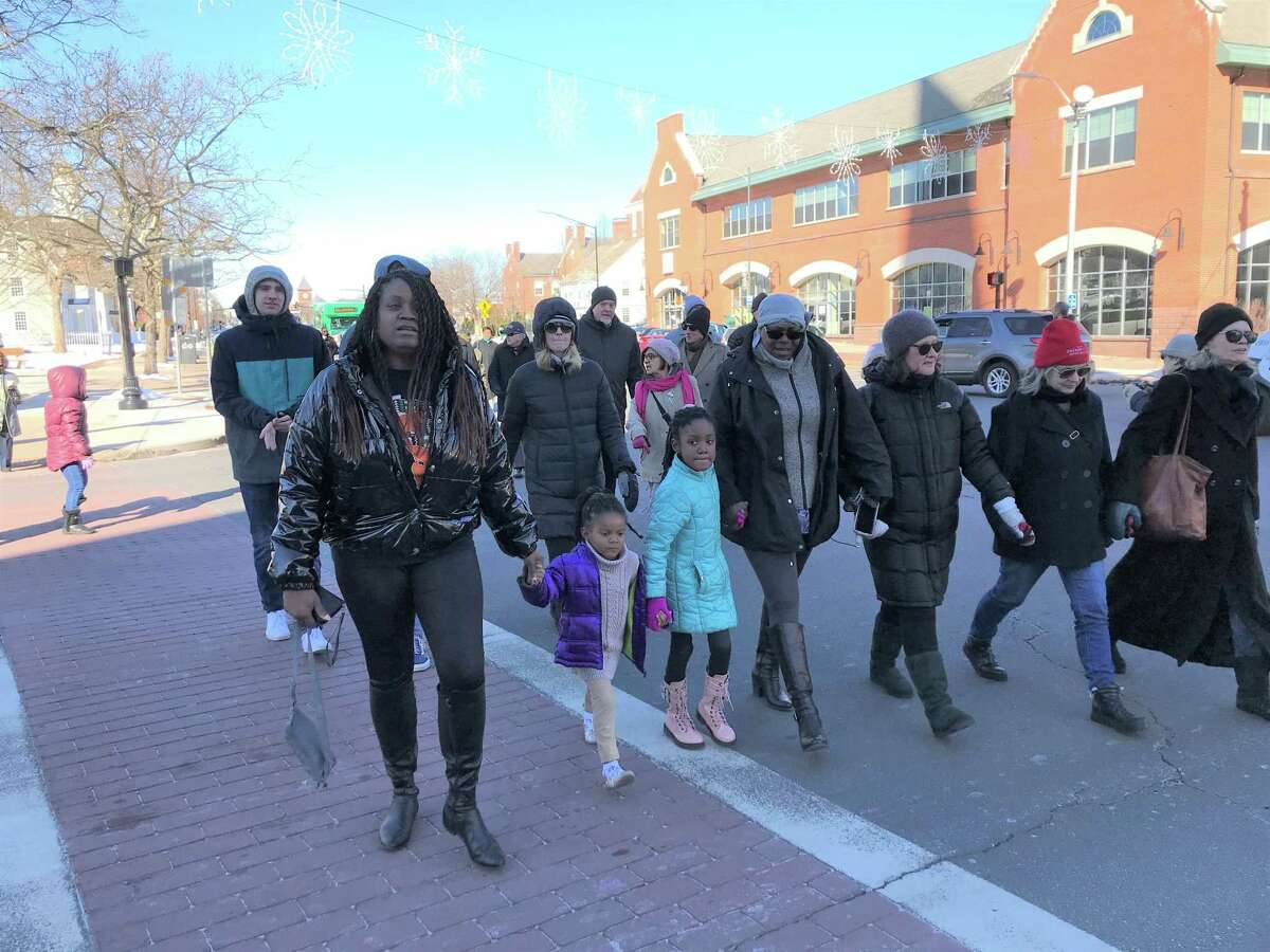 Middletown residents and officials Monday observed Martin Luther King Jr., Day.