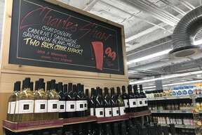"""Better known as """"Two Buck Chuck,"""" Charles Shaw wine at Trader Joe's now costs $1.99, which the grocery chain attributes to reduced packaging."""