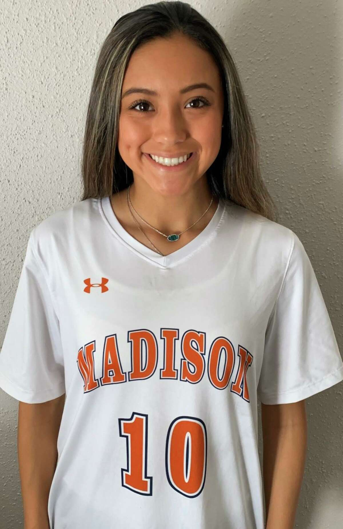 Madison soccer player Jillian Martinez