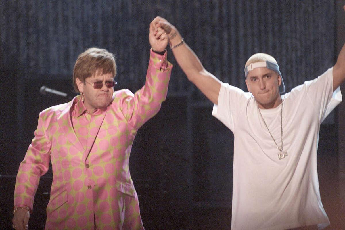 2001: Eminem and Elton John duet for