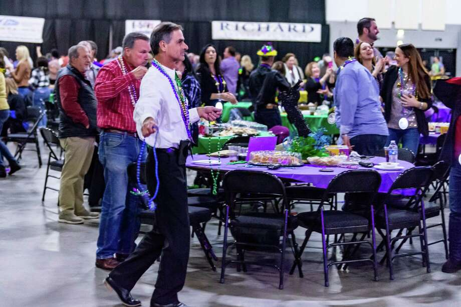 Mardi Gras season kicked off with the annual Beans N Jeans party at the Beaumont Civic Center. This year, Mardi Gras is moving to Beaumont. Photo made on Saturday, January 4, 2020. Fran Ruchalski/The Enterprise Photo: Fran Ruchalski/The Enterprise / 2019 The Beaumont Enterprise