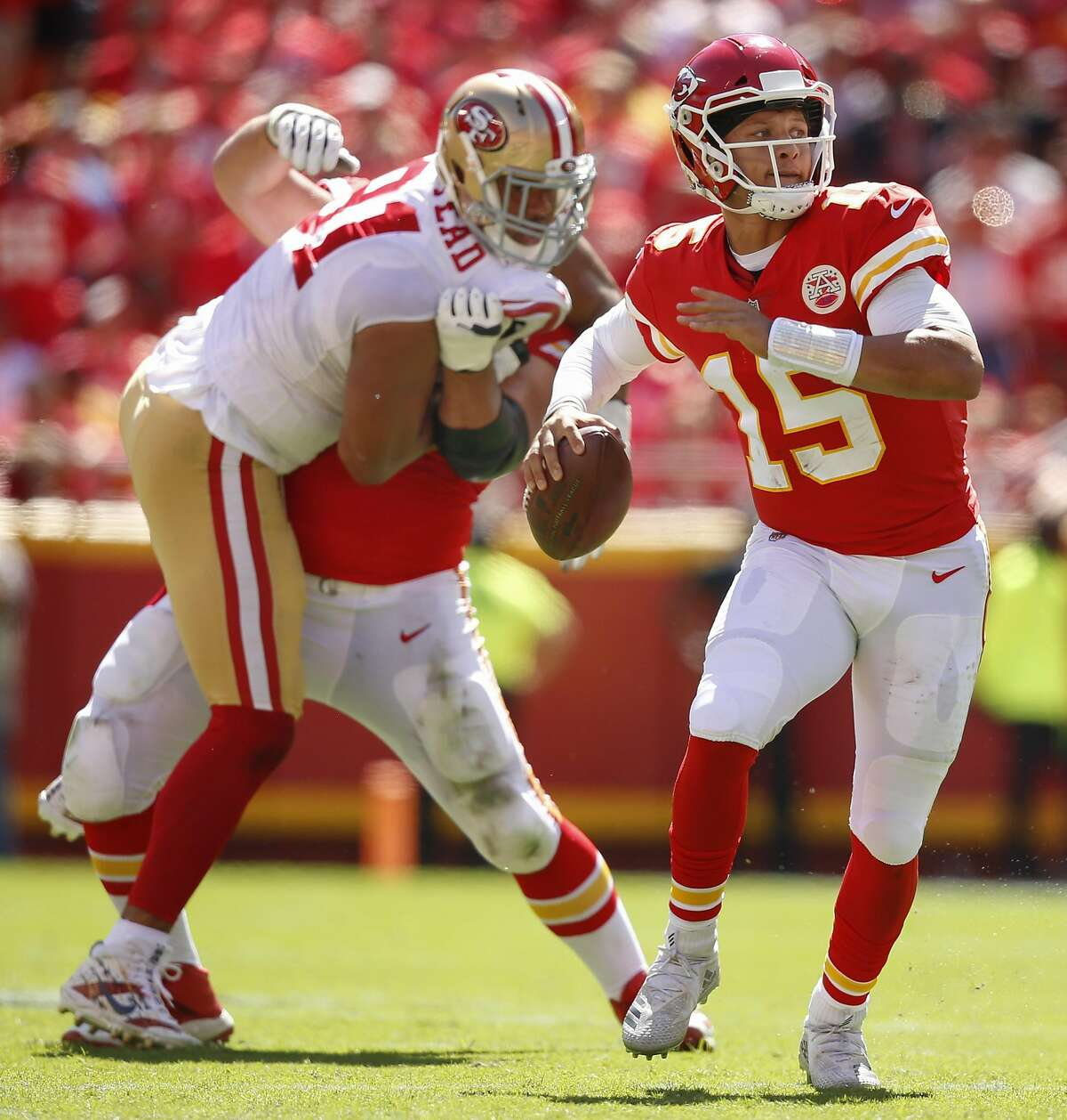 It's Mahomes' Chiefs versus Garoppolo's 49er's in the highly anticipated Super Bowl LIV on Sunday. Find out where you can watch the big game.