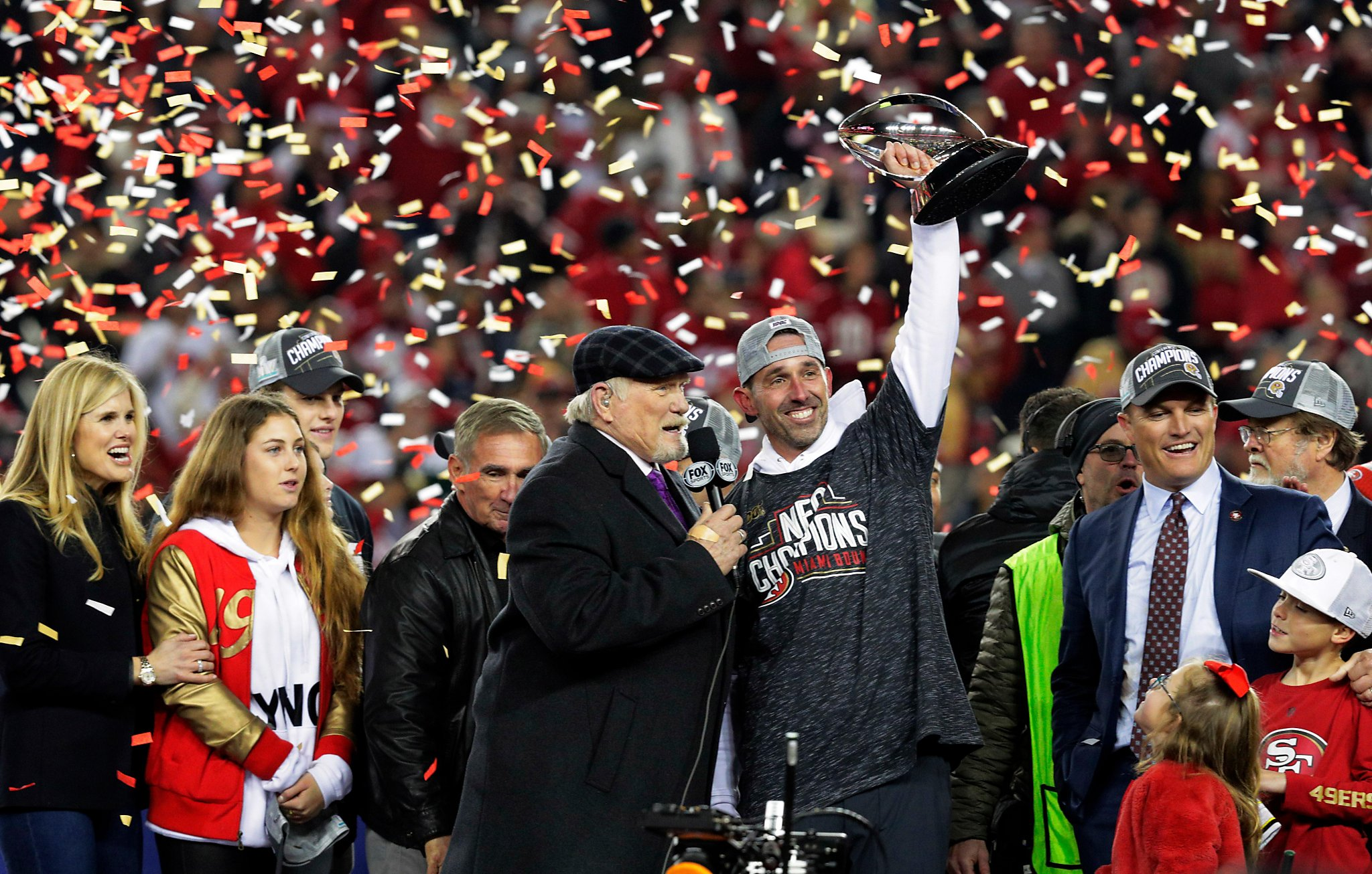 「49ers won kyle shanahan」の画像検索結果