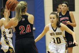 The visiting Kingston Cardinals doubled up on the North Huron girls basketball team, 54-27, on Monday night.