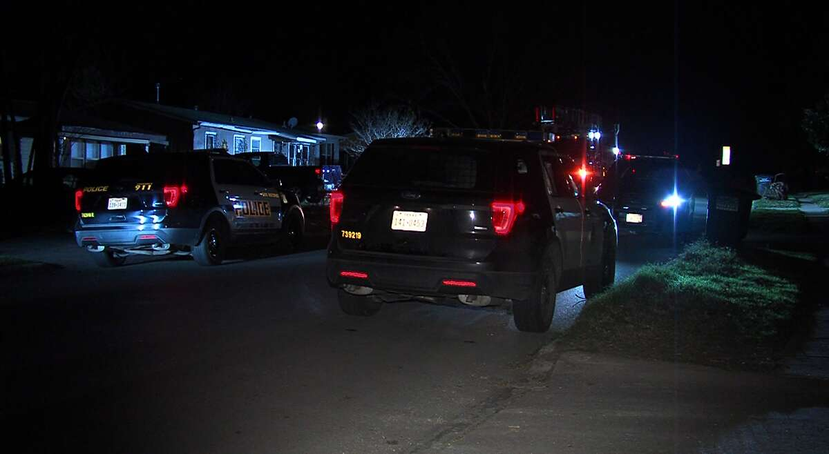 San Antonio police were searching for the crime scene of one shooting when they came across a second shooting on the South Side on Tuesday morning.