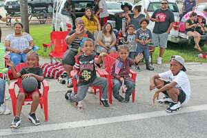 The proposed Fort Bend ISD calendar includes a holiday for the Fort Bend County Fair and Rodeo on Sept. 25. Pictured: a group of your parade-goers spotted at the 2019 Fort Bend County Fair Parade.