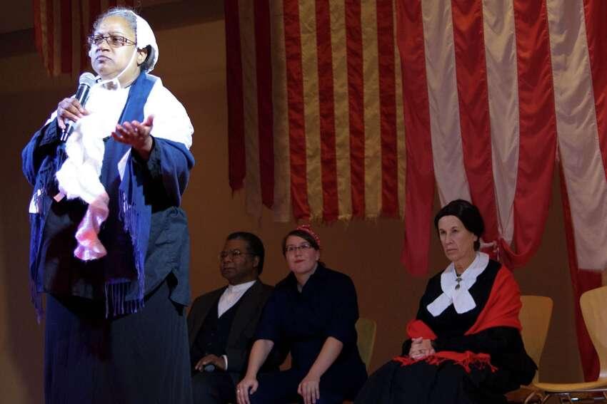 Actor Penny Meachem will portray Sojourner Truth in Saturday's program