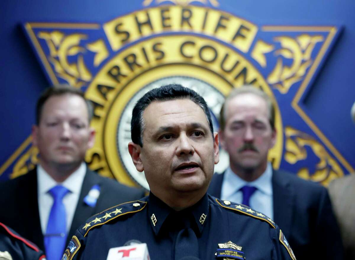 Sheriff Ed Gonzalez, shown here in December 2019, said he supports several of the court's reform proposals, but said it will take more funding to achieve some of those.