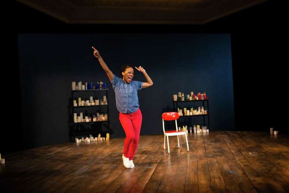 "Nilaja Sun performs her solo show ""Pike St."" at the Hartford Stage Company through Feb. 2. Photo: Contributed Photo /"