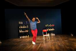 "Nilaja Sun performs her solo show ""Pike St."" at the Hartford Stage Company through Feb. 2."