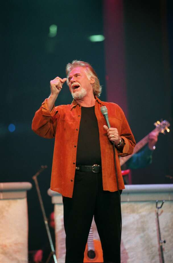 03/04/2000 - Kenny Rogers in Concert at the Houston Livestock Show & Rodeo Saturday night at the Astrodome. Photo: James Nielsen/SPECIAL TO THE CHRONICLE