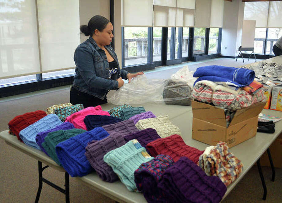 The Martin Luther King Jr. Day of Service was held Monday at SIUE. Photo: Scott Marion/The Intelligencer