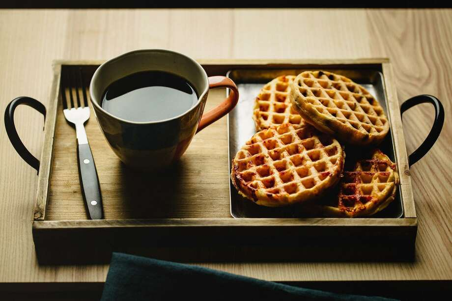 Chaffles are a flourless version of waffles that became popular among keto and gluten-free sets but have crossed over to a wider audience. Photo: E. Jason Wambsgans, MBR / TNS / Chicago Tribune