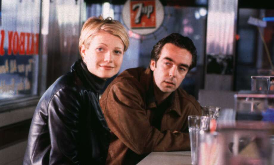 """The blonde version of Gwyneth Paltrow hangs out with John Hannah in the romantic comedy """"Sliding Doors,"""" which has been reissued by Shout! Factory. Photo: File Photo / handout"""